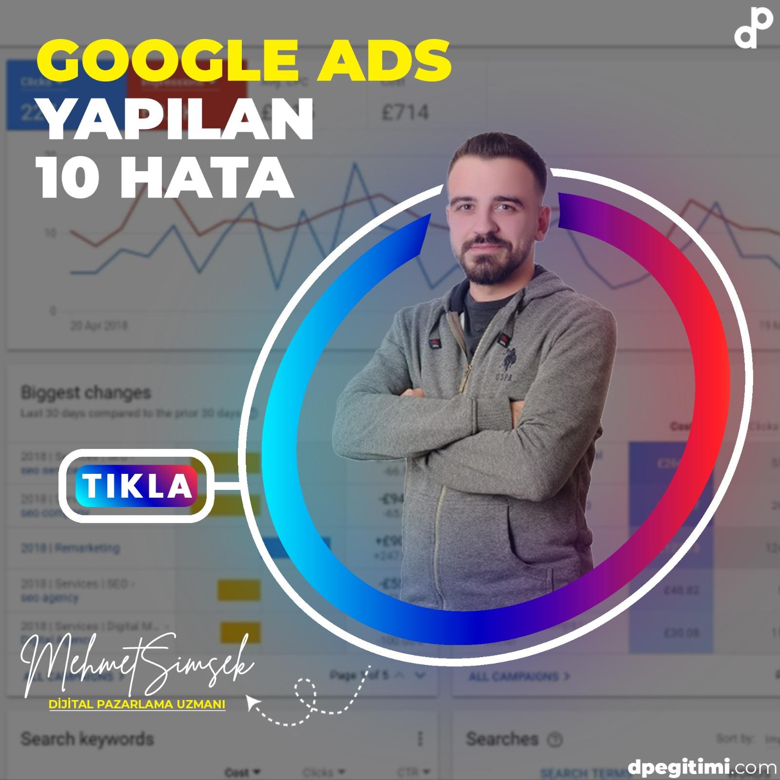 google adste yapılan 10 hata